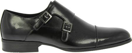 Men's Stacy Adams Gordon 20148, Black Leather, large, image 2