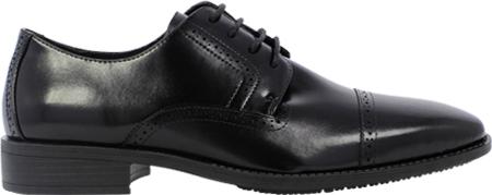 Men's Stacy Adams Abbott Cap Toe Oxford 20159, Black Leather, large, image 2
