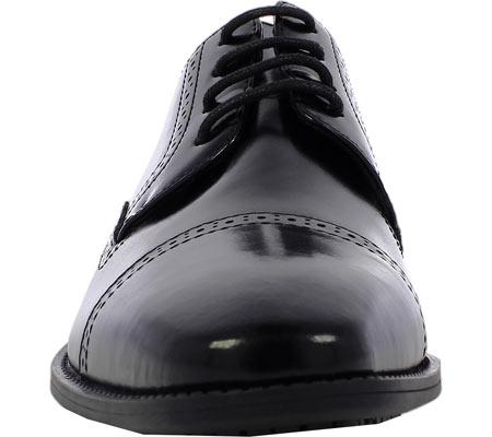 Men's Stacy Adams Abbott Cap Toe Oxford 20159, Black Leather, large, image 4