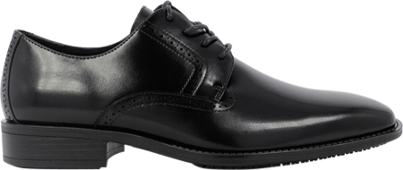 Men's Stacy Adams Ardell Plain Toe Oxford 20162, Black Leather, large, image 2