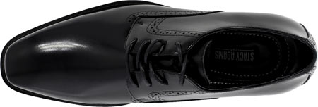 Men's Stacy Adams Ardell Plain Toe Oxford 20162, Black Leather, large, image 6