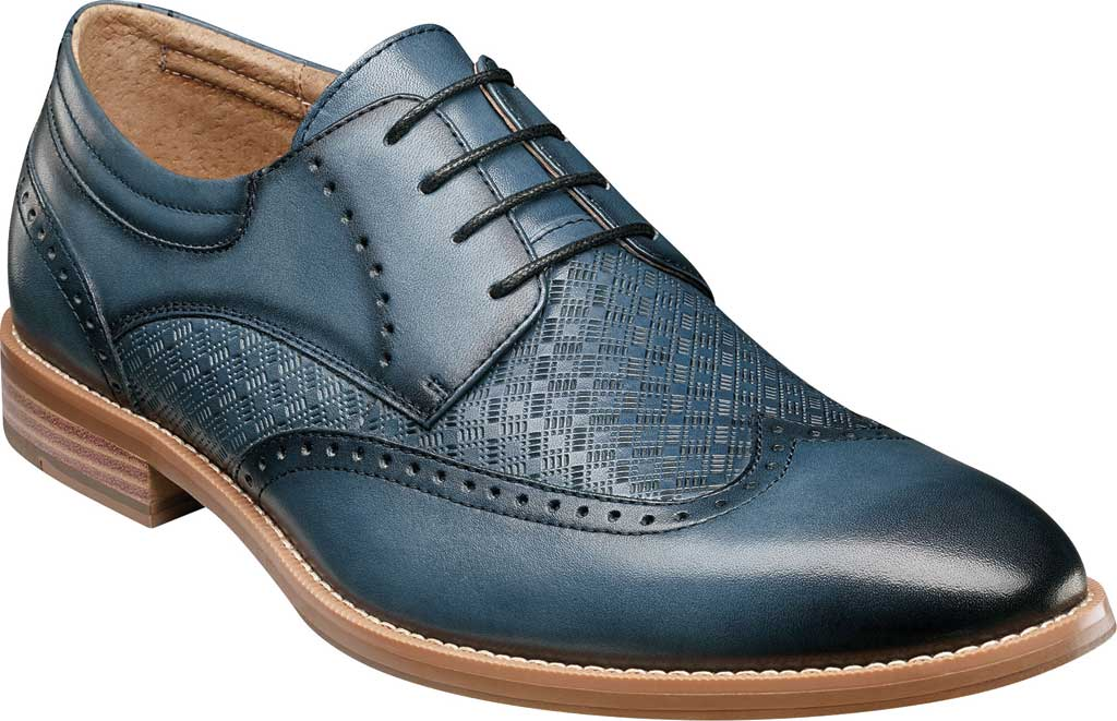 Men's Stacy Adams Fallon Wing Tip Oxford, , large, image 1