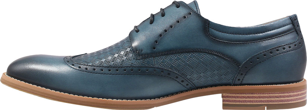 Men's Stacy Adams Fallon Wing Tip Oxford, , large, image 3