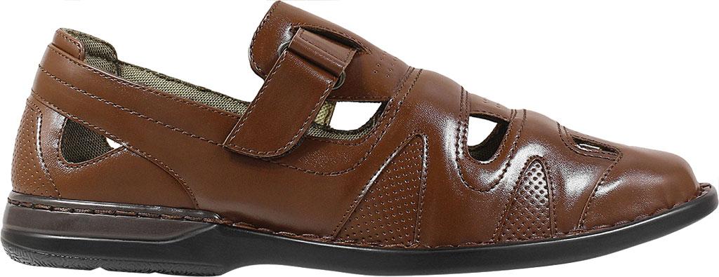 Men's Stacy Adams Aramis Closed Toe Fisherman Sandal, Cognac Leather, large, image 2