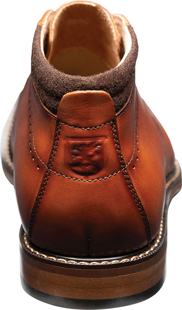 Men's Stacy Adams Frasier Chukka Boot, Cognac Smooth Leather, large, image 4