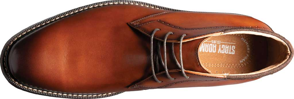 Men's Stacy Adams Frasier Chukka Boot, Cognac Smooth Leather, large, image 5