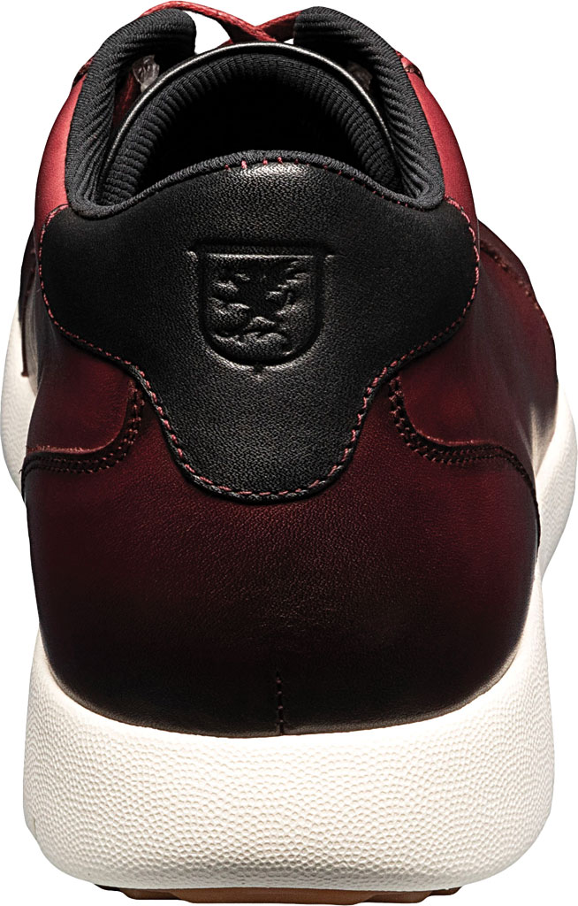 Men's Stacy Adams Harlow Mid Sneaker, Pomegranate Burnished Leather, large, image 4