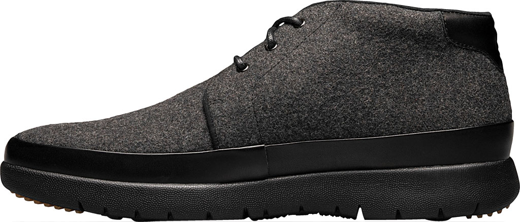 Men's Stacy Adams Hartley Chukka Boot, Charcoal Wool Felt, large, image 3