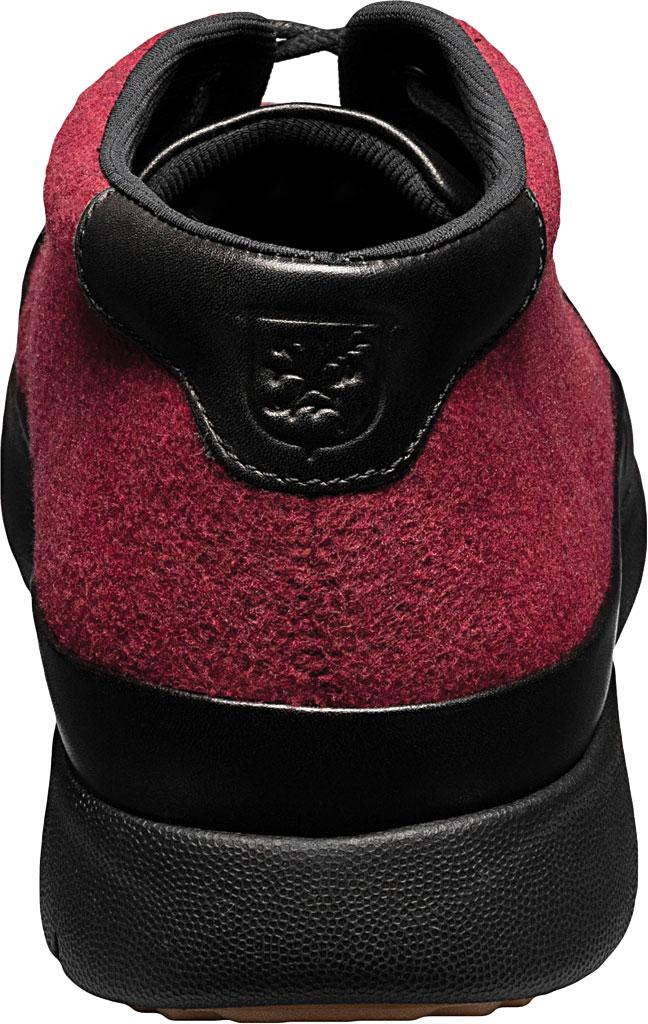 Men's Stacy Adams Hartley Chukka Boot, Burgundy Wool Felt, large, image 4