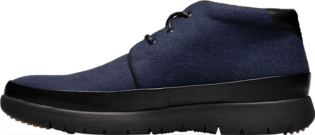 Men's Stacy Adams Hartley Chukka Boot, Navy Wool Felt, large, image 3
