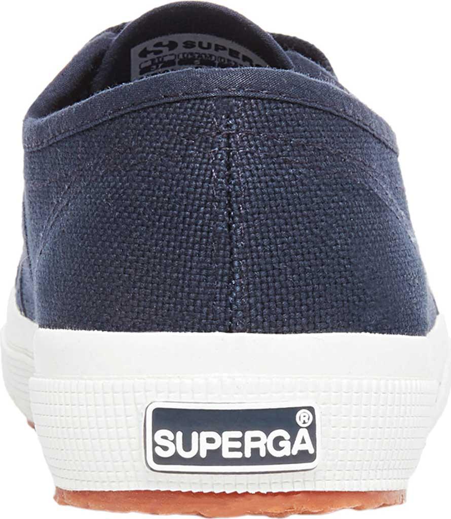Women's Superga 2750 Classic Sneaker, Navy/White Canvas, large, image 3