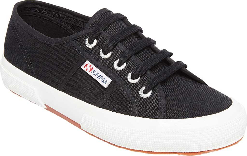 Women's Superga 2750 Classic Sneaker, Black/White, large, image 1