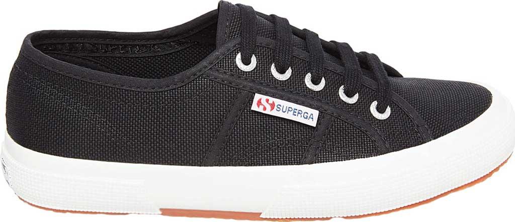 Women's Superga 2750 Classic Sneaker, Black/White, large, image 2