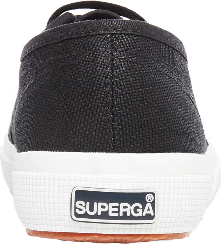 Women's Superga 2750 Classic Sneaker, Black/White, large, image 3