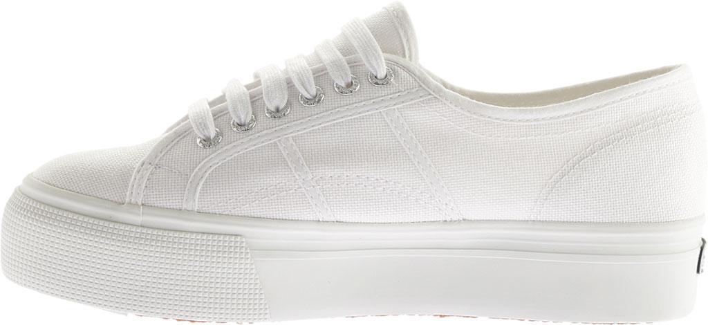 Women's Superga 2790 ACTOW Flatform Sneaker, White, large, image 3