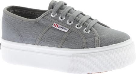 Women's Superga 2790 ACTOW Flatform Sneaker, Grey Sage, large, image 1