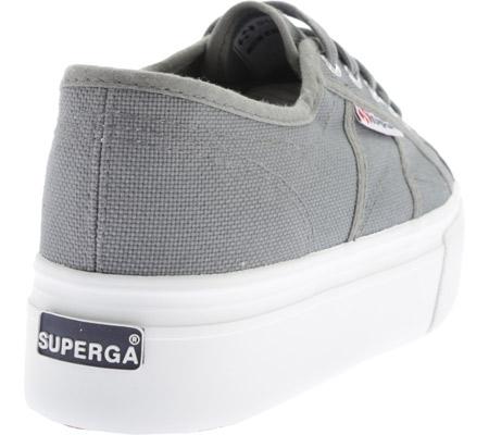 Women's Superga 2790 ACTOW Flatform Sneaker, Grey Sage, large, image 4