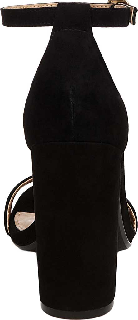 Women's Steve Madden Carrson Ankle Strap Sandal, Black Suede, large, image 3