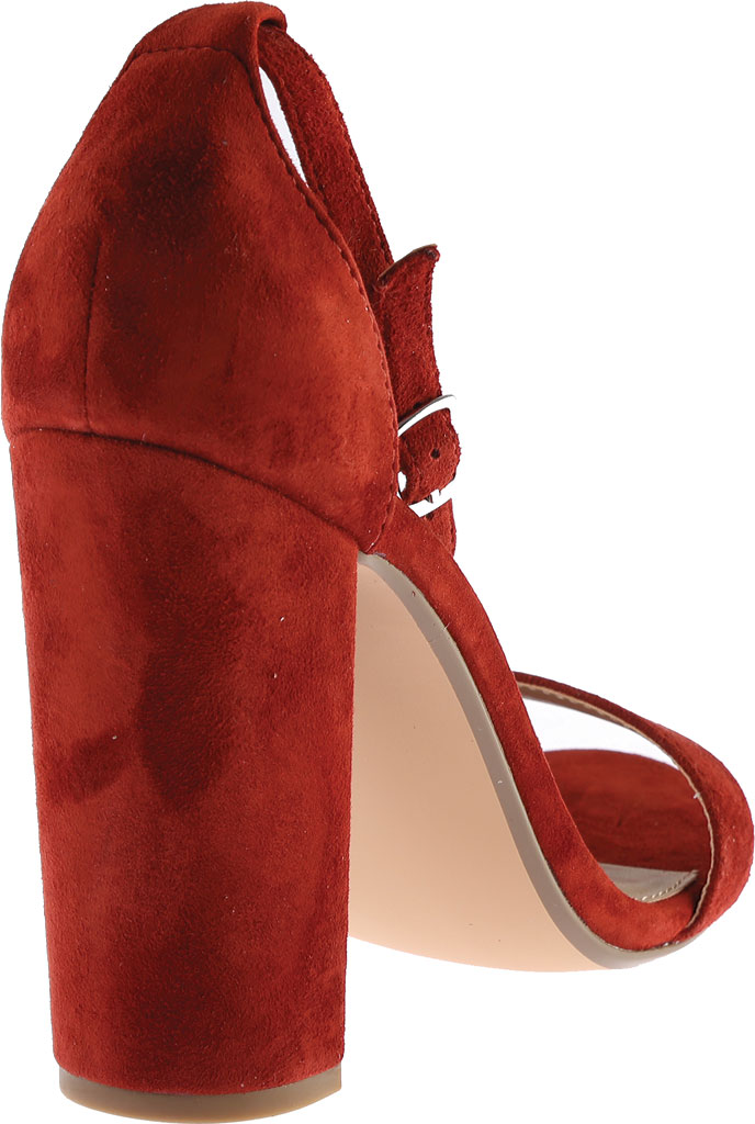 Women's Steve Madden Carrson Ankle Strap Sandal, Rust Kid Suede, large, image 4