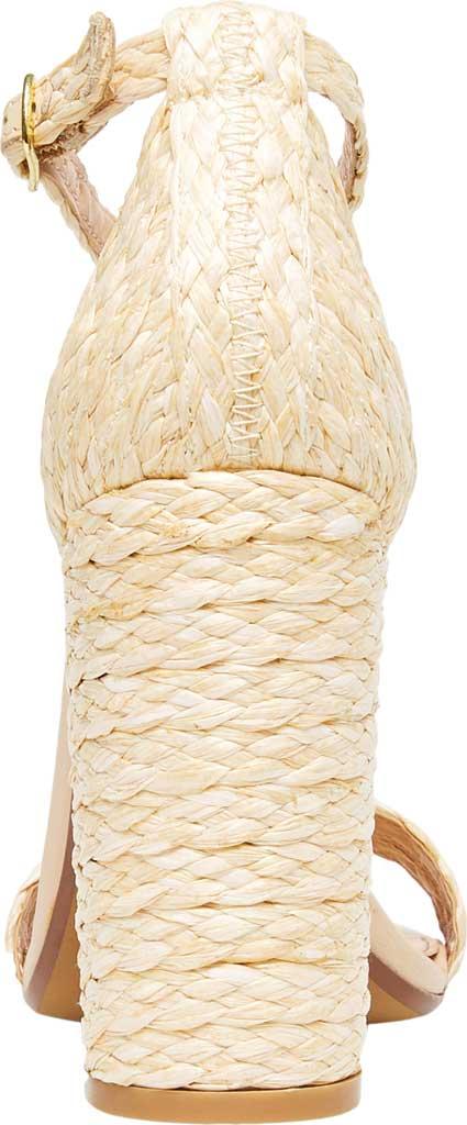 Women's Steve Madden Carrson Ankle Strap Sandal, Natural Raffia Synthetic, large, image 3