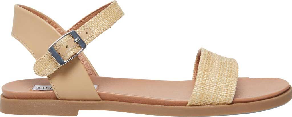 Women's Steve Madden Dina Ankle Strap Sandal, Natural Raffia, large, image 2