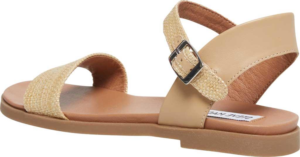 Women's Steve Madden Dina Ankle Strap Sandal, Natural Raffia, large, image 3