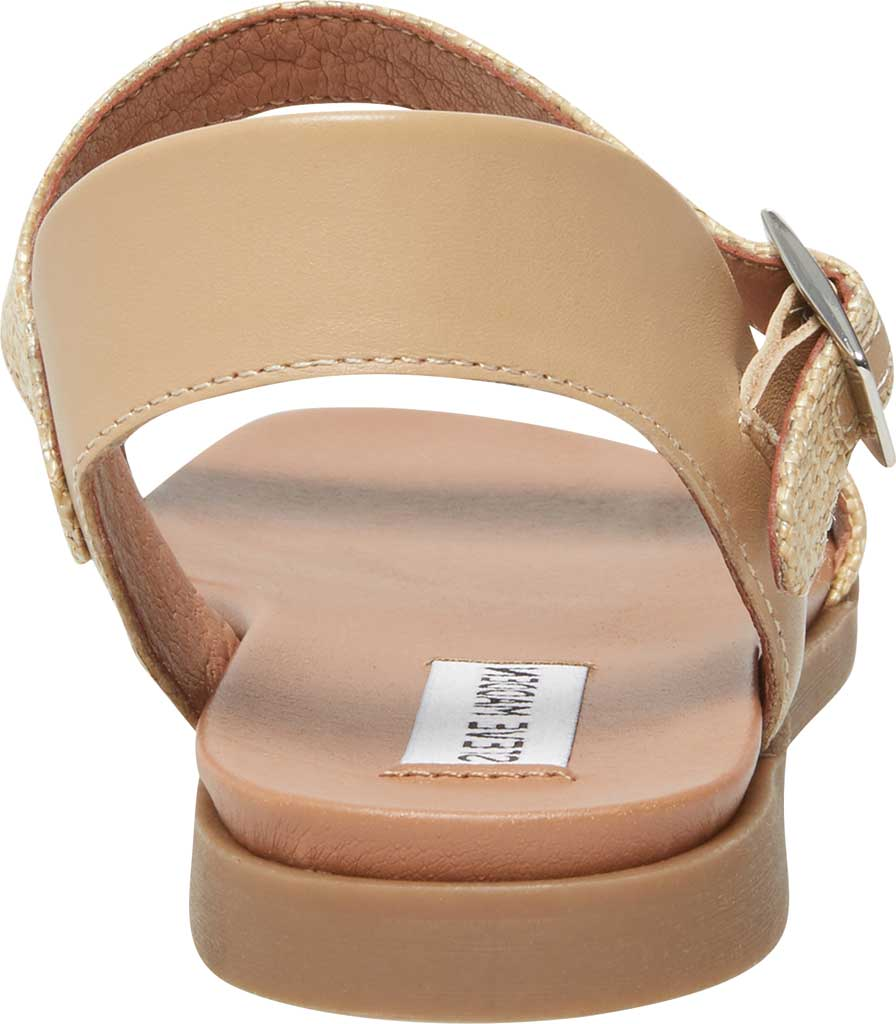 Women's Steve Madden Dina Ankle Strap Sandal, Natural Raffia, large, image 4