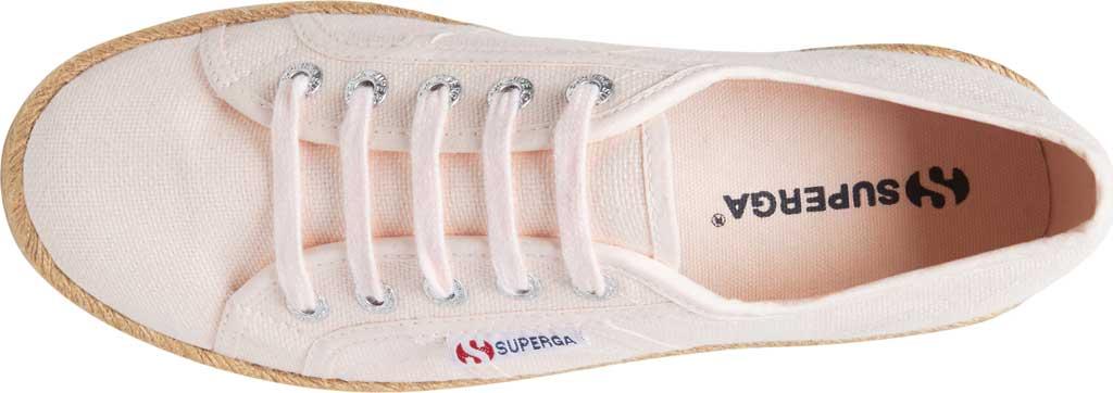 Women's Superga 2730 Espadrille Platform Sneaker, Pink Canvas, large, image 4