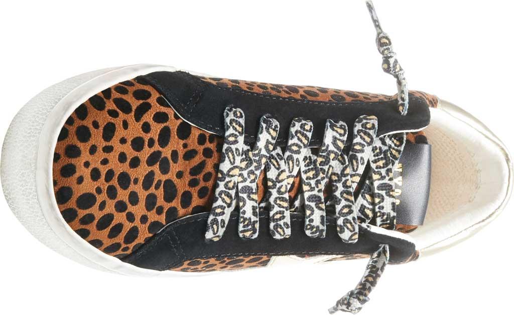 Women's Steve Madden Philosophy Sneaker, Leopard Multi Microsuede/Synthetic, large, image 4