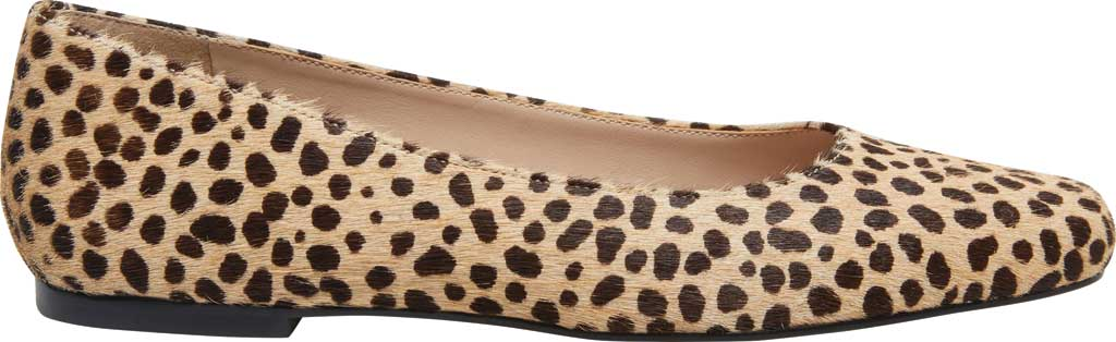 Women's Steve Madden Byra Square Toe Flat, Leopard Synthetic, large, image 2