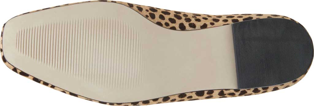 Women's Steve Madden Byra Square Toe Flat, Leopard Synthetic, large, image 6