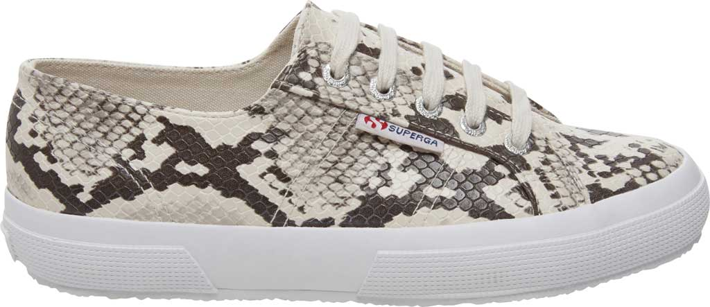 Women's Superga 2750 Synth Snakew Sneaker, Natural Snake Synthetic, large, image 2