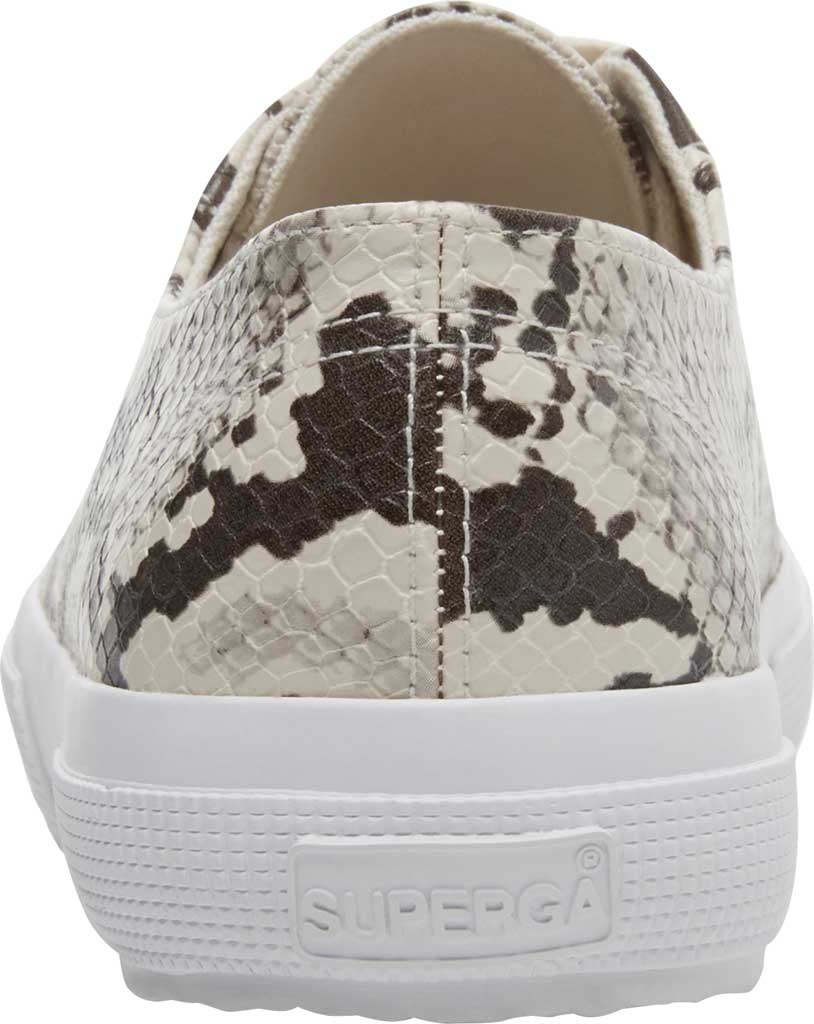 Women's Superga 2750 Synth Snakew Sneaker, Natural Snake Synthetic, large, image 3