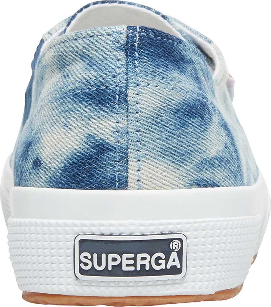 Women's Superga 2790 Tie Dye Denim Sneaker, Denim Multi Canvas, large, image 3