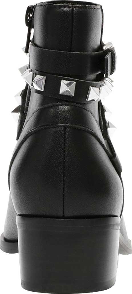 Women's Steve Madden Besto Studded Ankle Bootie, Black Leather, large, image 3