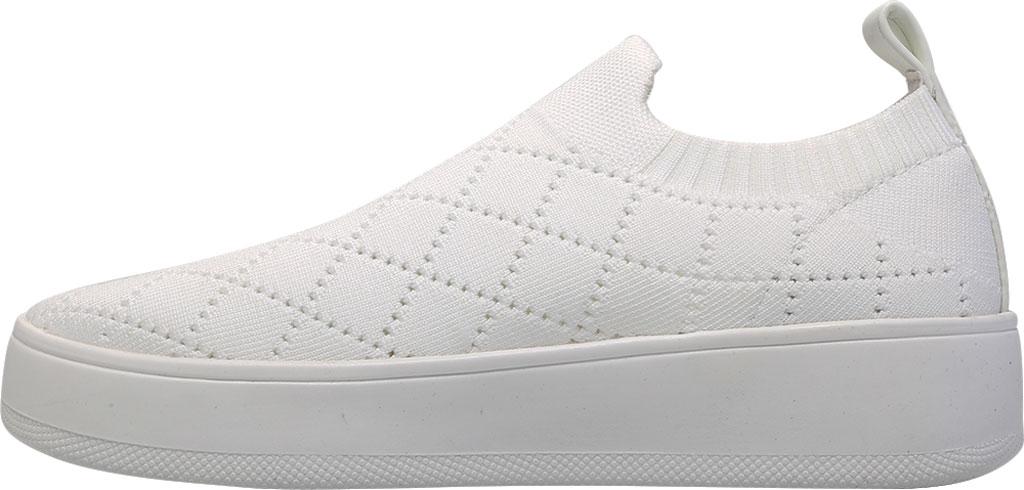 Women's Steve Madden Bequilt Flatform Sneaker, White Synthetic Knit, large, image 3