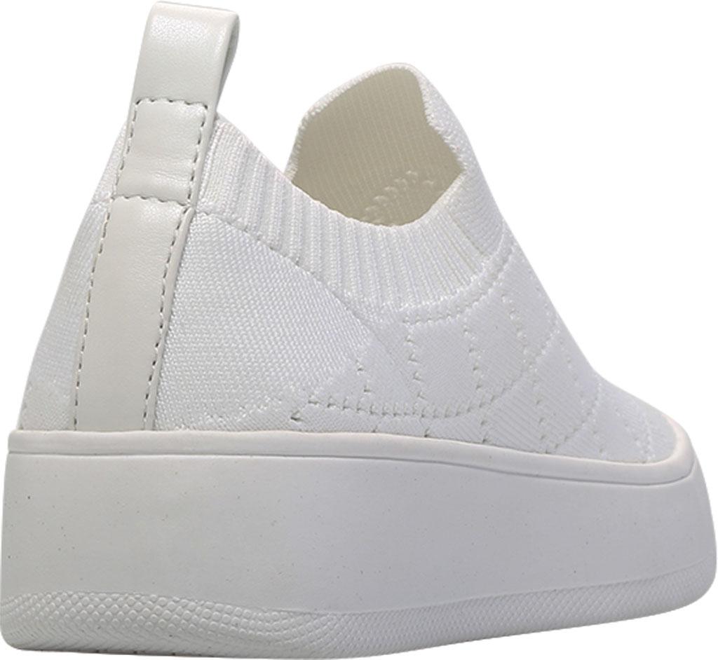 Women's Steve Madden Bequilt Flatform Sneaker, White Synthetic Knit, large, image 4