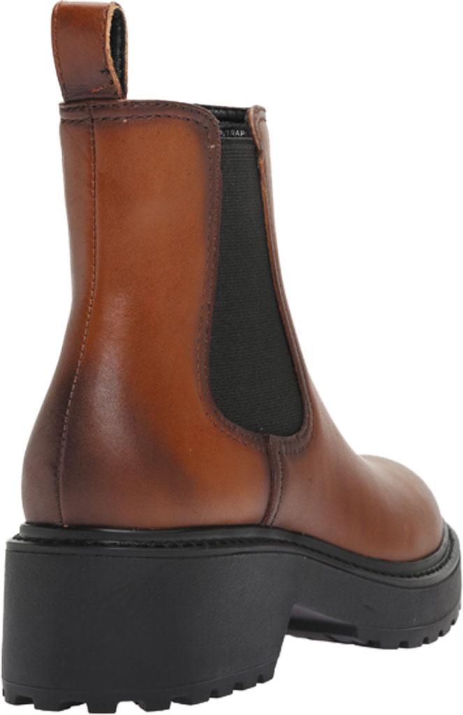 Women's Steve Madden Trap Chelsea Boot, Cognac Leather, large, image 4