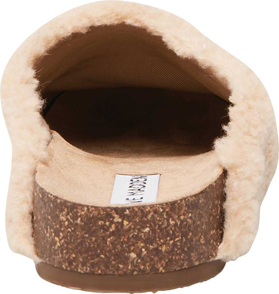 Women's Steve Madden Vesa Faux Fur Slipper, Natural Faux Fur, large, image 3
