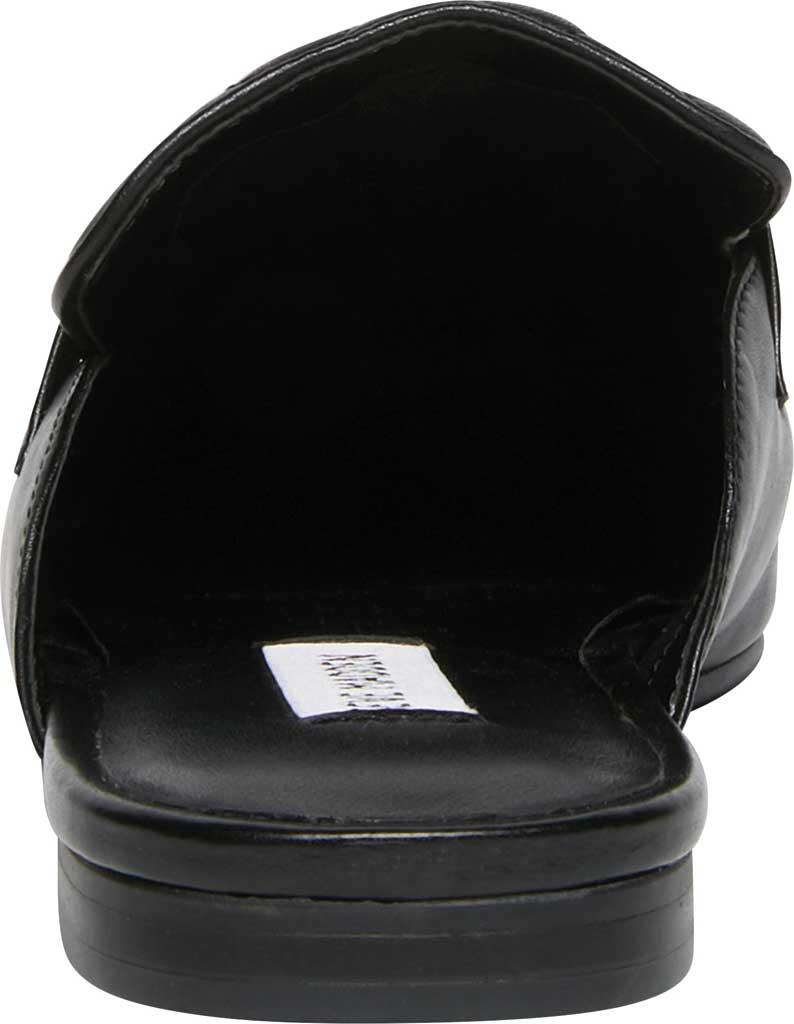 Women's Steve Madden Kori-Q Mule, Black Leather, large, image 3