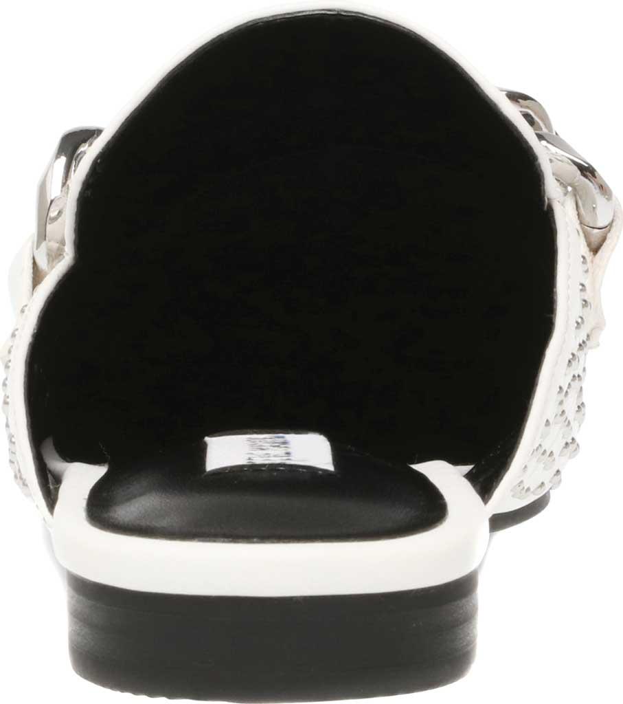 Women's Steve Madden Keller-S Mule, White Synthetic Leather, large, image 3