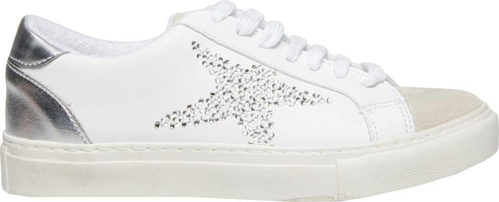 Women's Steve Madden Rezume Sneaker, Rhinestone Synthetic, large, image 2