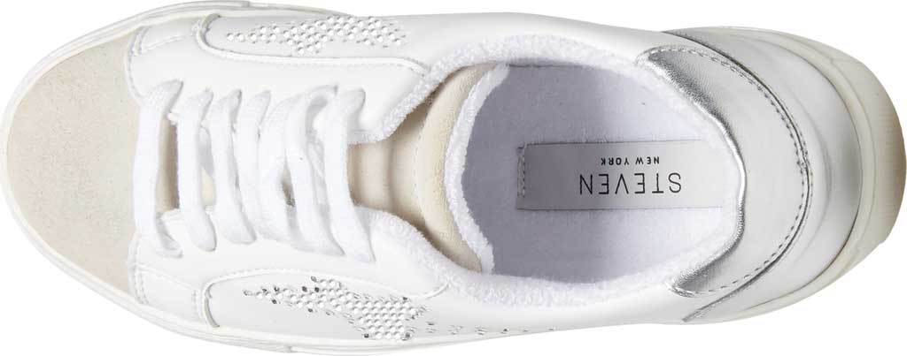 Women's Steve Madden Rezume Sneaker, Rhinestone Synthetic, large, image 5