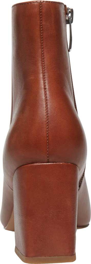Women's Steve Madden Nix Flared Heel Bootie, Cognac Leather, large, image 4