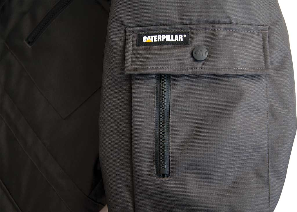 Men's Caterpillar Heavy Insulated Parka, Army Moss, large, image 5