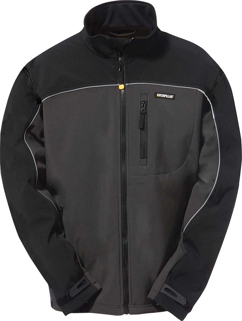 Men's Caterpillar Soft Shell Jacket, , large, image 1