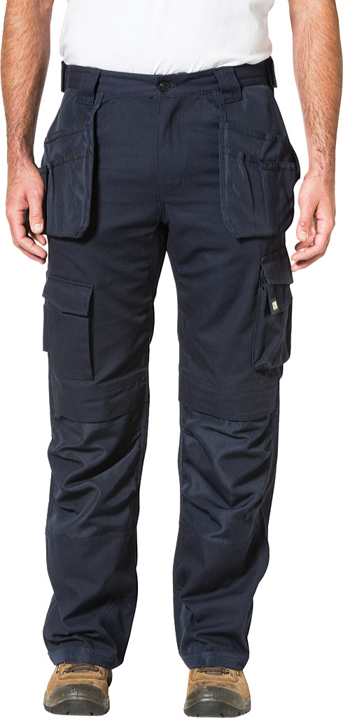"Men's Caterpillar Trademark Trouser - 34"" Inseam, Navy, large, image 1"