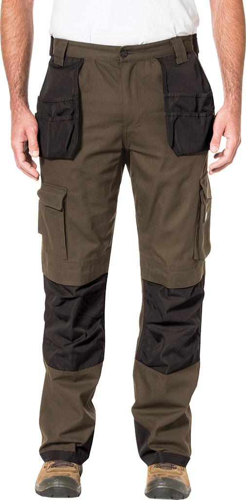 "Men's Caterpillar Trademark Trouser - 30"" Inseam, Dark Earth/Black, large, image 1"