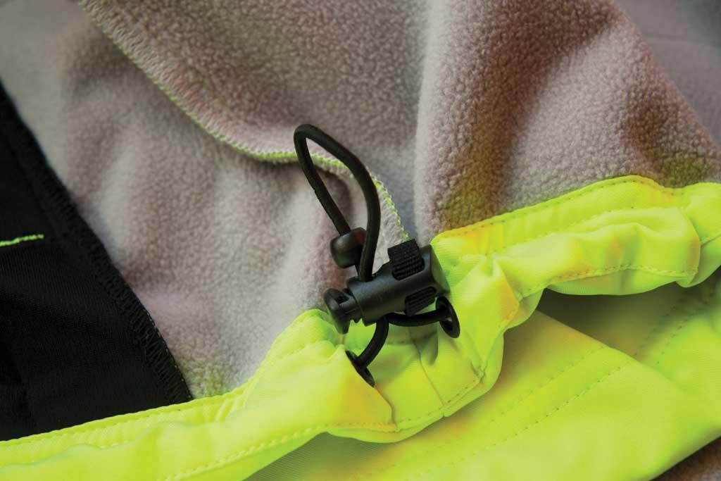 Men's Caterpillar HI VIS Soft Shell Jacket, Hi-Vis Yellow, large, image 3