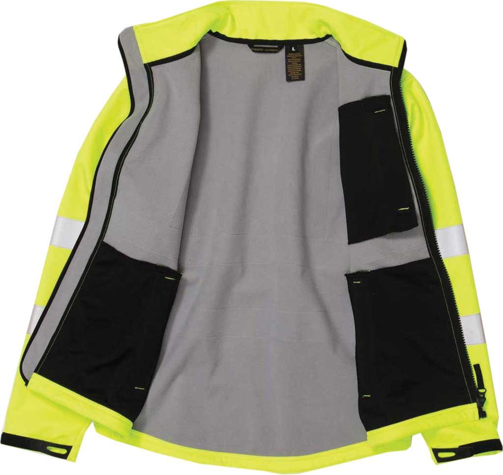 Men's Caterpillar HI VIS Soft Shell Jacket, Hi-Vis Yellow, large, image 4